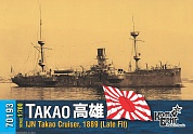 Корабль KB70193 IJN Takao Cruiser, 1889 (Late Fit)