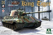 2074Т  WWII German Heavy Tank Sd.Kfz.182 King Tiger Porsche Turret w/interior [without Zimmerit] 1/35
