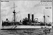 Корабль KB70099PE USS Maine Battleship, 1895