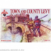 RB72041 Фигуры War of the Roses 2. Town and County Levy