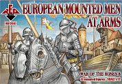 RB72047 Фигуры War of the Roses 8. European Mounted Men-at-Arms