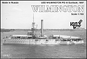 Корабль KB70087PE USS Wilmington PG-8 Gunboat, 1897