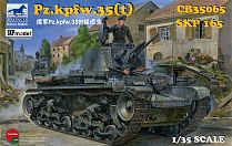 CB35065 Танк german pz kpfw 35t light tank  (Bronco Models) 1/35