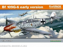 82113 Самолет Bf-109G-6 early version