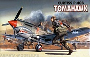 12456 Самолет  CURTISS P-40B TOMAHAWK