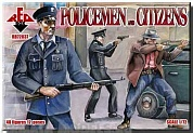 RB72037 Фигуры Policemen and Citizens