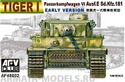 AF48002 Танк Tiger I early version