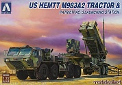 UA72080 US HEMTT  M983A2Tractor & Patriot PAC-3 Launching Station
