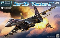 KH80142 Истребитель Su-35  (KITTY HAWK) 1/48
