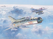 11101 Набор The Sound of Silence is a Dual Combo of A-4 (Hasegawa) and MiG-21PFM