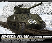 "13500 Танк   M4A3 (76)W ""Battle of Bulge"""