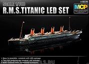 14220 Корабль  R.M.S. TITANIC + LED SET