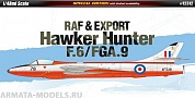 12312 Самолет  RAF & Export Hawker Hunter F.6/FGA.9