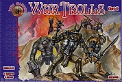 ALL72030 Фигуры War Trolls. Set1 1/72