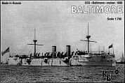 Корабль KB70094 USS Baltimore Cruiser, 1890