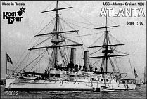 KB70082PE USS Atlanta Cruiser, 1886