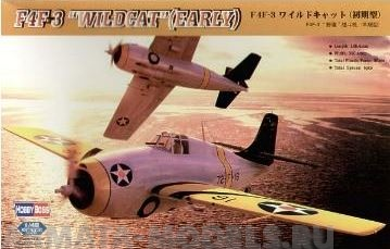 80326 Самолет F4F-3 early Wildcat Hobby Boss