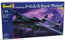 04887 Самолет Истребитель P-61B Black Widow