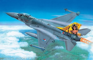 2654ИТ Самолет F-16A Fighting Falcon Italeri