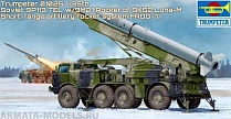 01025 Ракетный комплекс Russian 9P113 TEL w/9M21 Rocket of 9P52 Luna-M