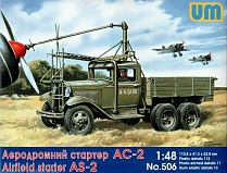 Airfield starter AS-2 on GAZ-AAA (1:48)