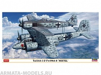 02193 Самолеты Ta154A-1 and Fw-190A-8