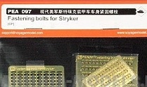 PEA097 Набор фототравления для 1/35 Fastening Bolts for Stryker (For All)