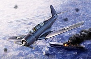"12324 Самолет  SB2U-3 Vindicator ""Battle of Midway"""