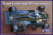 20012EBB Team Lotus 91 1982