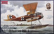 Rod028 Самолет ALBATROS W.4 EARLY