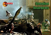 32012MR Фигуры Somalian Insurgents 1/32