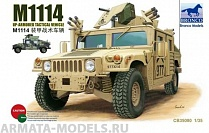 CB35080 Автомобиль M1114 Up-Armored Tactical Vehicle  (Bronco Models) 1/35