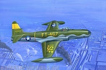 81724 Самолет F-80A Shooting Star fighter
