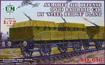 Armored Anti-Aircraft mount built by 'Steel bridge' factory.