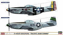 "02020 Самолет  P-51D/K MUSTANG ""PACIFIC ACES COMBO""  (Two kits in the box)"