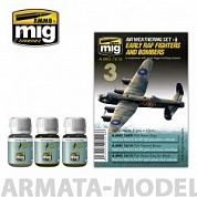 AMIG7416 Ammo Mig Набор для создания реалистичных эффектов EARLY RAF FIGHTERS AND BOMBERS