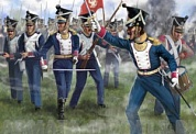72144ST Фигуры Napoleonic Polish Troops in Attack 1/72