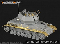 "PE35329 Набор фототравления для 1/35 WWII German 20mm Flakpanzer IV ""Wirbelwind"" (For DRAGON 6540)"