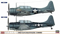 02026 Самолет  SBD-3/4/5 DAUNTLESS COMBO (Two kits in the box)