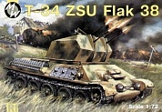MW7213 T-34 ZSU Flak 38  GERMANY