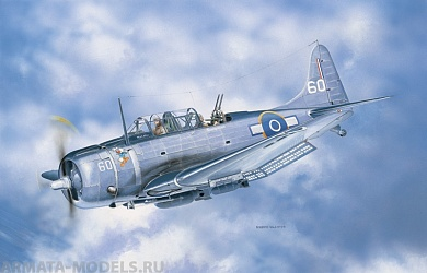 2673ИТ Самолет SBD 5 Dauntless Italeri