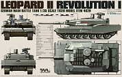 4629  German Main Battle Tank Revolution I Leopard II