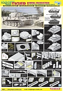6600Д Танк 1/35 Tiger I, Initial Production s.Pz.Abt.502 Leningrad Region 1942/3