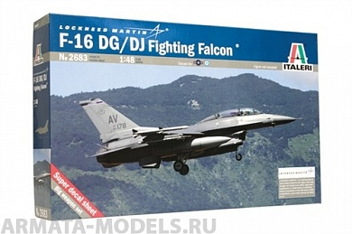 2683ИТ Самолет F-16D Fighting Falcon Italeri