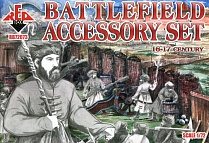RB72073 Фигуры 16th-17th Century Battlefield Accessory Set 1