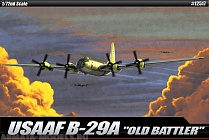 "12517 Самолет  USAAF B-29A ""OLD BATTLER"""