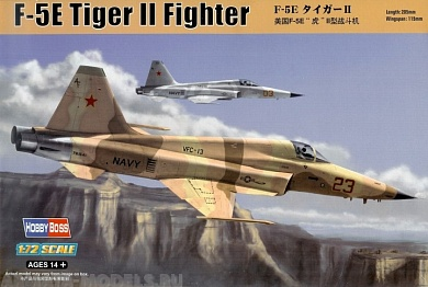 80207 Самолет F-5E (Tiger II) fighter Hobby Boss