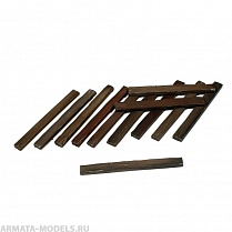 35-0044-B  Railway Sleepers, 12 pcs.