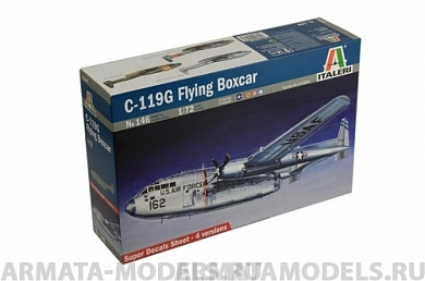 146ИТ Самолет C-119G Flying Boxcar Italeri,