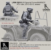 LRM35016 US Special Forces/MARSOC ATV rider 2013-2015 , seated